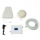 Усилитель сигнала Wingstel 900/2100/2600 mHz (для 2G/3G/4G) 65dBi, кабель 15 м., комплект
