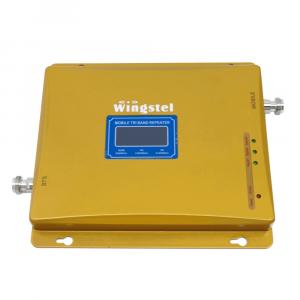 Усилитель сигнала Wingstel 900/1800/2100 mHz (для 2G/3G/4G) 65 dBi, кабель 15 м., комплект - 3